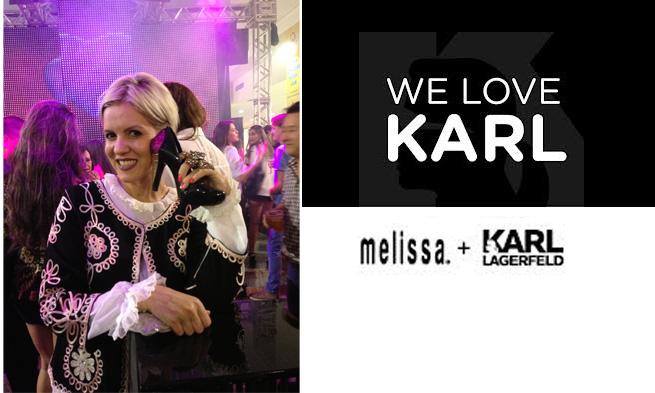 Coleção Melissa + Karl Lagerfeld – Lançamento
