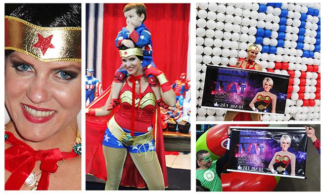 Aniversário da Tati Godoy e Léo – Festinha Temática dos Super-Heróis