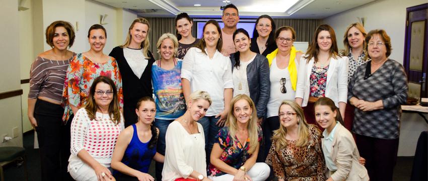Turma de outubro de 2013 do Curso Personal Organizer em Curitiba