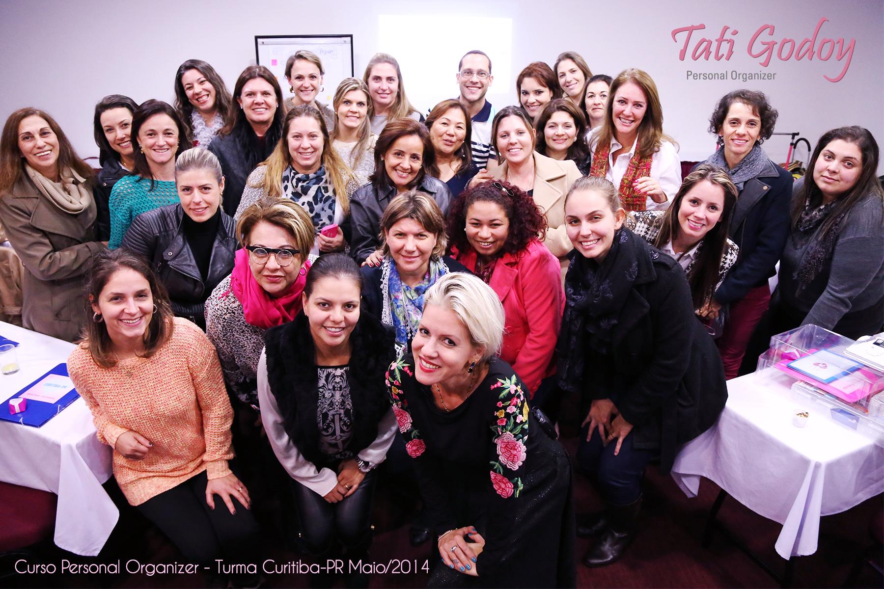 2ª Edição - Turma de maio de 2014 do Curso Personal Organizer em Curitiba