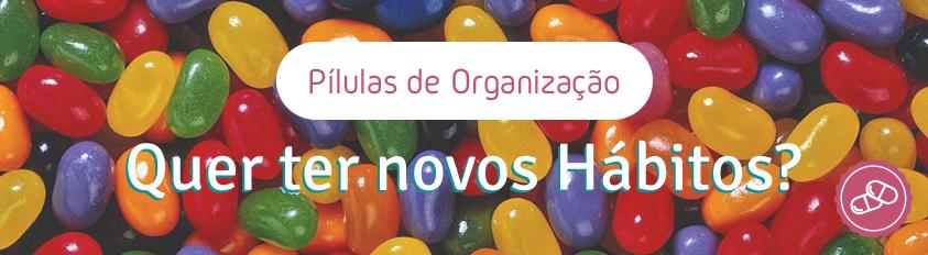 Quer ter novos hábitos de organização?
