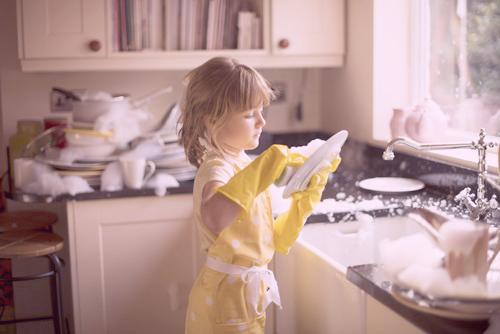 personal organizer criança serviço de casa