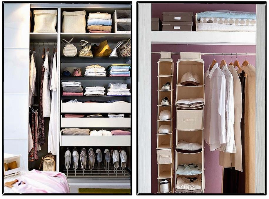 Como organizar o closet em 5 passos