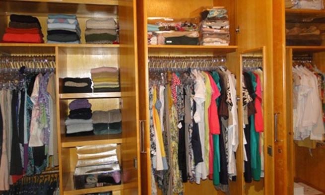 Como Maximizar Espaços em seu Closet