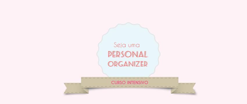 Curso Personal Organizer – Agenda 2015
