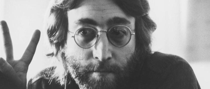 Modelos de Óculos - John Lennon e seu óculos redondo mega estiloso